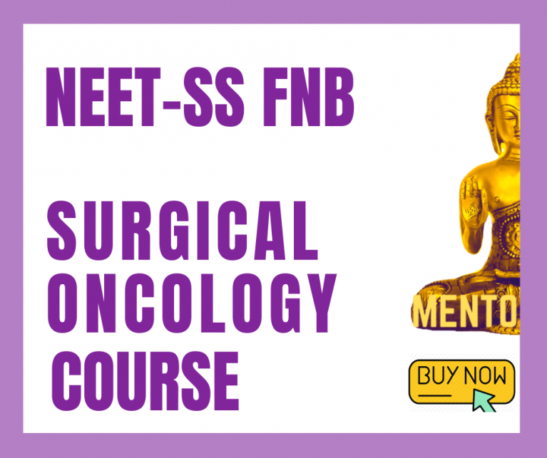 Surgical Oncology neet ss mcq