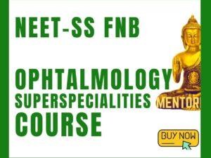 ophtalmology neetss