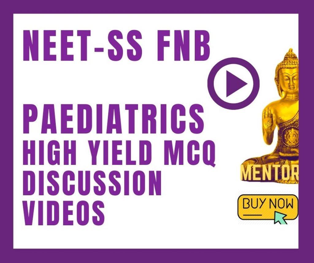 Pediatrics neet ss videos
