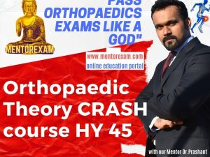 ORTHOPAEDIC THEORY CRASH COURSE HY 45