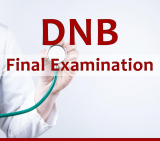 DNB Final Theory Exam application forms available dates announced 2020