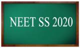 NEET-SS 2020 exam dates National Board of exams